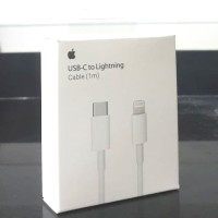Kabel Data Type C to Lightning 8 Pin (1M) For Iphone Ipad Macbook