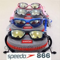 Hot Sale - Kacamata Renang Anti Fog & UV SPEEDO 866 last stok