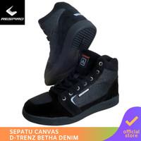 Respiro D'trenz Betha Denim Black Black | Sepatu Motor Touring Pria