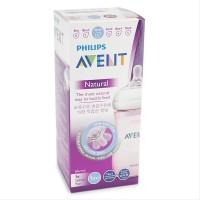 Sedia Philips Avent Botol Susu Natural 260 ml Pink