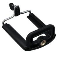 Clamp Holder U Universal Handphone buat Tongsis Tripod Ready