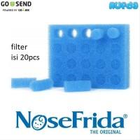 NoseFrida Filter, Isi Ulang Penyaring