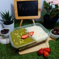 Avocado Chesse Cake Lumer/ Kue Lumer Box