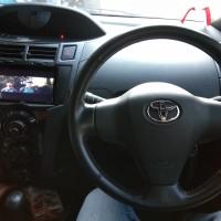 paket audio mobil Dobledin BAPJ+kameraNakamici+frame for Toyota YARIS