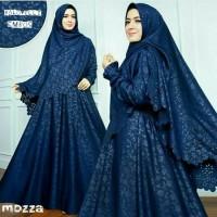gamis baju muslim wanita mozza syari