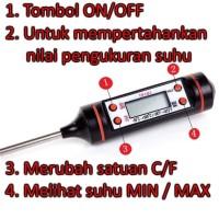 Thermometer Digital Laboratorium - Termometer Minyak/Makanan/Susu