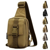 Tas Sling Army Tactical Assualt Daypack Bahu Nilon