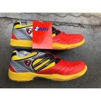Sepatu Badminton Hart HS 503 - Merah, 36
