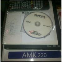 dvd karoke advanter amk220/20 ribu lagu berkualitas
