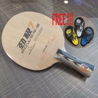 DHS PG7 - FL - Blade/Kayu Pingpong Tenis Meja Bat Bet