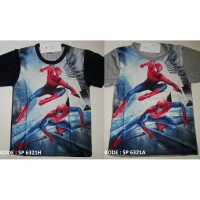 Kaos Anak Laki laki merk FURO Koleksi Spiderman 10 12 14