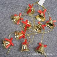 XDBS 2M bell lonceng string aksesoris dekorasi ornamen pohon natal