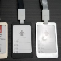 ID card holder / hang tag / name tag / gantungan ID card stainless