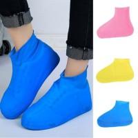 Sarung Sepatu Waterproof Cover Shoes High Karet Pelindung Sepatu Air