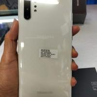 Samsung Note 10 Plus 512 Gb White Putih Mulus Fullset Original SEIN