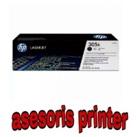 PRINTER TONER HP LASERJET 305X(CE410X) BLACK ORIGINAL