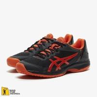 Sepatu Tenis Asics Gel Court Speed Black/Tomato Original