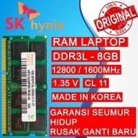 RAM HYNIX DDR3L 8GB 1600MHZ 12800 ORI RAM LAPTOP DDR3 RAM NB DDR3