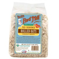 Bob s Red Mill Organic Old Fashioned Rolled Oats 32 oz 907 g