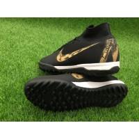 Futsal Nike Mercurial Superfly VI Academy TF - Black Gold