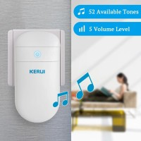 KERUI M518 Wireless Tanpa Battery Bel Pintu rumah Hanya Receiver