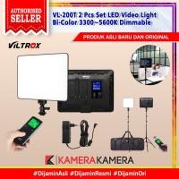 Viltrox VL-200T 2 Pcs Set LED Video Light Bi-Color 3300~5600K Dimmable