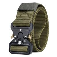 Rhodey Tali Ikat Pinggang Canvas Military Tactical - MU055 - Green