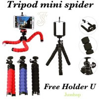 Tripod Mini Gorilla Spider + Holder U / Spider Gorillapod