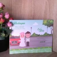Undangan Pernikahan Avis KD 88