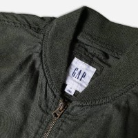 NEW! GAP BOMBER JACKET OLIVE