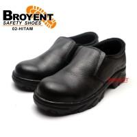 Sepatu Safety Slip-on Kulit Asli 02