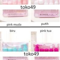 Travel Toiletries Kit Botol Lotion Sabun Antis Kosmetik 5-In-1 Hpr236