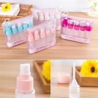 Botol Sabun Mini Untuk Travel 5 In 1 Toiletries Kit Best Seller,-