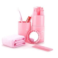 Travel Toiletries Kit Set - Tempat Sabun-Shampo-Sikat Gigi Best