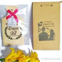 Souvenir Talenan Kayu Besar Mini Unik Free Paperbag Sablon Murah