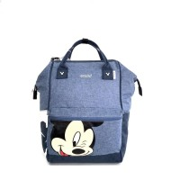 Tas Wanita Original Anello Reg Mickey Backpack - Blue