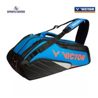 NEW COLOR !! Tas Badminton / Raket Victor BR8208/ BR 8208 FC Original