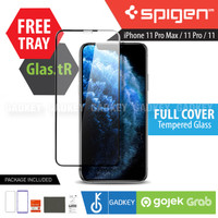 Spigen Full Tempered Glass iPhone 11 Pro Max / 11 Pro / 11 Original - iPhone 11 Pro