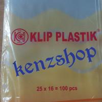 PLASTIK KLIP 16x25 ( ISI 100PC ) / PLASTIK OBAT
