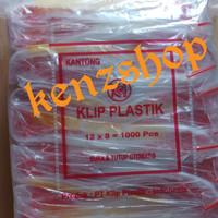 PLASTIK KLIP 8x12 ( ISI 100PC ) / PLASTIK OBAT