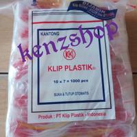 PLASTIK KLIP 7x10 ( ISI 100PC ) / PLASTIK OBAT