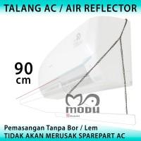 Talang AC Reflector Acrylic Penghalang Penahan Hembusan Angin AC 90cm