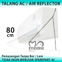 Air Conditioner AC Reflektor - Talang AC Aklirik - Penahan Angin 80cm