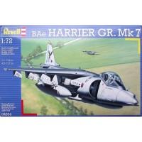 pesawat BAe Harrier GR.Mk 7 1/72 model kit revell