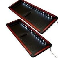 Dudukan / Tatakan / Tempat Plat Nomor Mobil Lampu LED Acrylic Universa