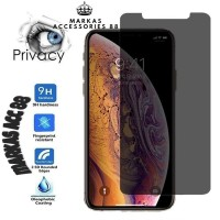 OPPO F7 TEMPERED GLASS SPY ANTI GORES KACA FULL COVER PRIVACY 9H