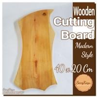 Wooden Cutting Board 20x40 Cm Talenan kayu unik wood chopping board