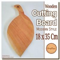Talenan kayu unik 18x35 cm Wooden Cutting Board wood chopping board