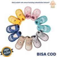 TokoDedee - Kaos Kaki Bayi Bentuk Sepatu Bahan Anti Slip Lembut