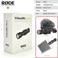 RODE VIDEOMIC ME-L Directional Microphone For Smartphone IOS Devices